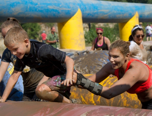 Obstacle / mud runs voor de hele familie of kinderen!