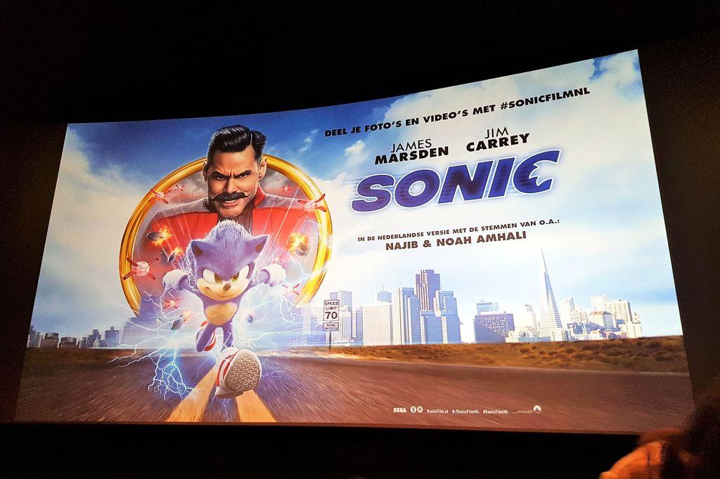 Recensie: Sonic bioscoop film - Mamaliefde.nl