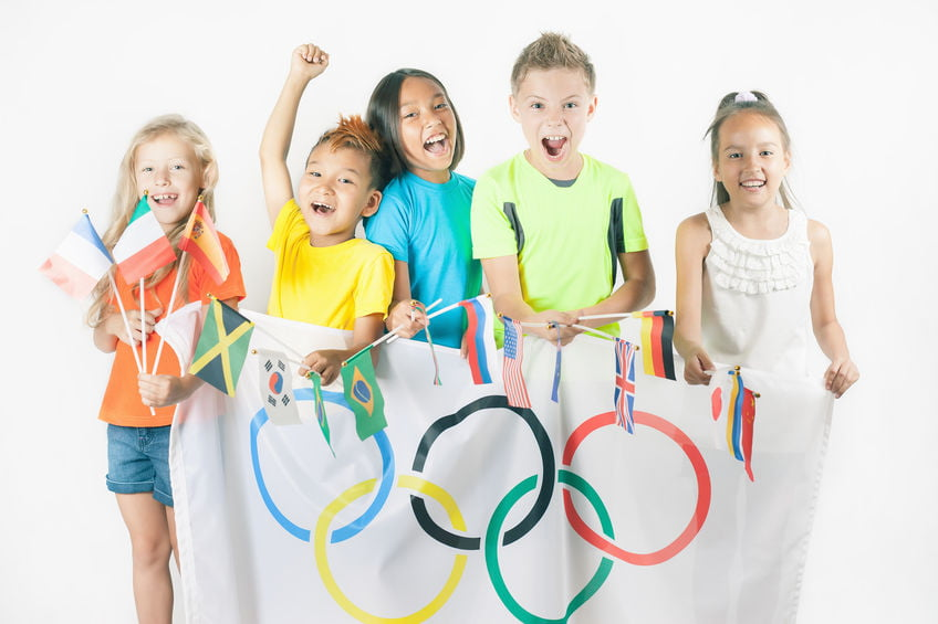 Olympische zomer spelen spelletjes en activiteiten met kinderen - Mamaliefde.nl