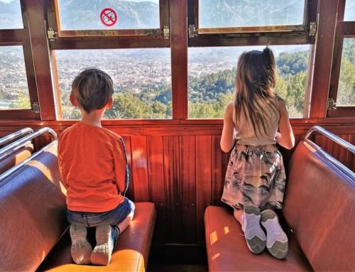 Ferrocarril de Sóller op Mallorca; mooiste treinrit van Europa met kinderen