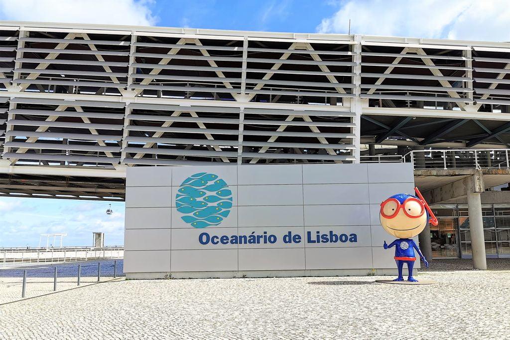 Oceanarium Lissabon - Mamaliefde.nl