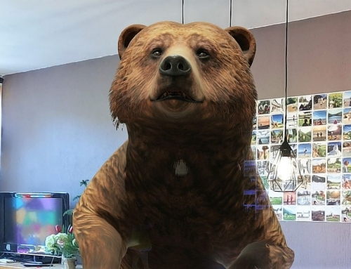 Google 3D animals dieren met augmented reality in huis