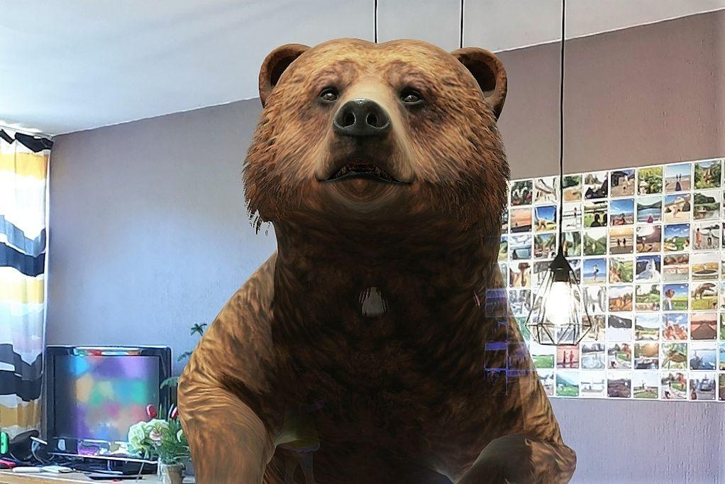 3D dieren Google animals met augmented reality (AR) weergeven in eigen huis Net als planeten, satelietten, dinosauriers, santa, menselijk skelet en lichaamsonderdelen. - Mamaliefde.nl