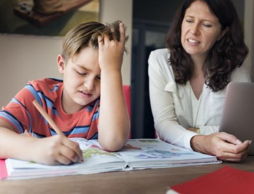 Huiswerkbegeleiding basisschool bij het thuisonderwijs