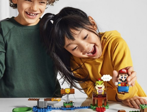 Is het LEGO of het Super Mario?