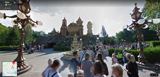 Efteling Google Streetview