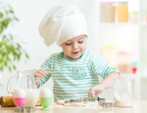 Recepten om te koken met kinderen