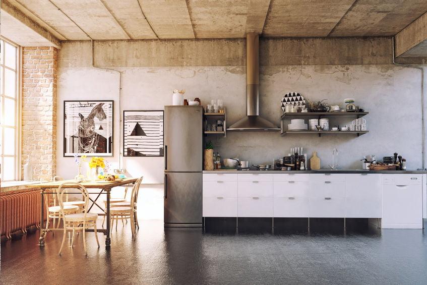 Tips industriële keuken maar ook met kookeiland, materialen, modern apparatuur - Mamaliefde.nl