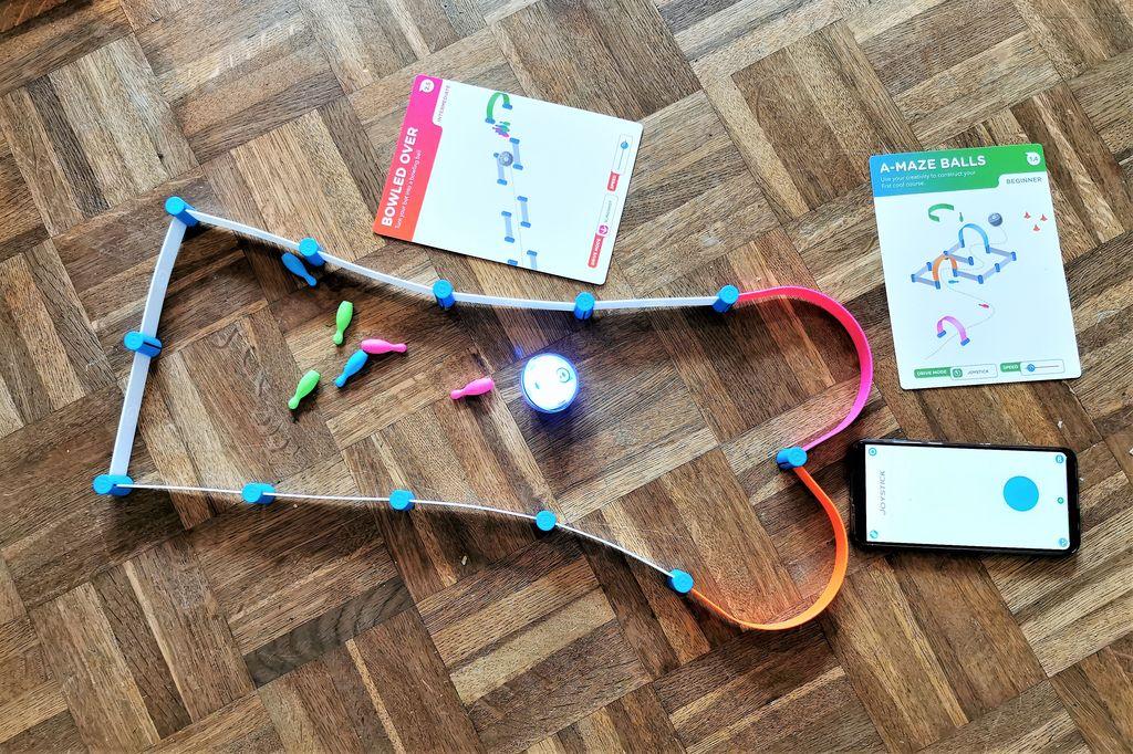 Spelen en programmeren met de Sphero Mini Activity Set - Mamaliefde.nl