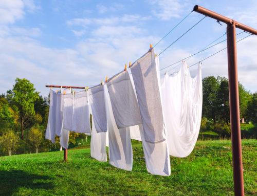 Vlekken verwijderen uit kleding