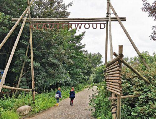 Klimmen en wandelen in het Klauterwoud Vlaardingen