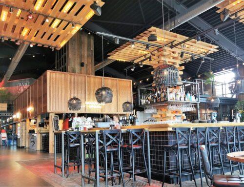 Barn 47 Den Haag; foodcourt restaurant met speelhoek voor de kinderen