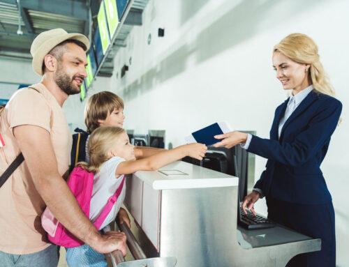 Een paspoort of identiteitskaart voor je kind