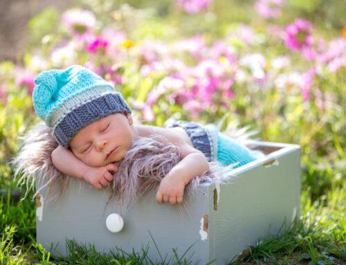 Buiten slapen voor je baby / kind in een lutjepot