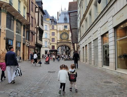 Rouen; de stad van de meisjesridder Jeanne d'Arc