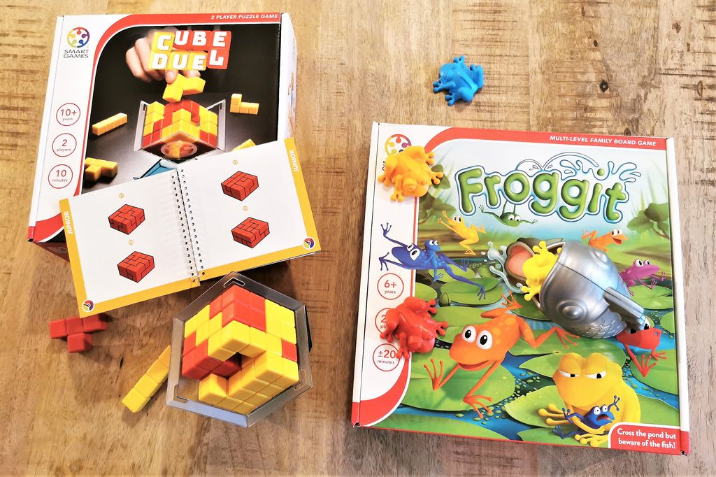 Review: Nieuw nu ook Smartgames multi player familiespellen - Mamaliefde.nl