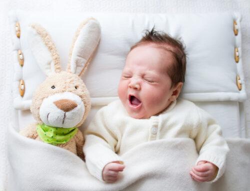 Slapen met behulp van white noise geluiden