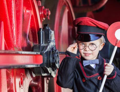Toeristische stoomtreinen en musea in Nederland met kinderen