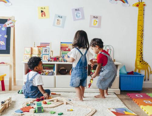 Toy rotation principe; speelgoed omwisselen