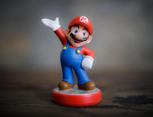 Super Mario speelgoed en spellen