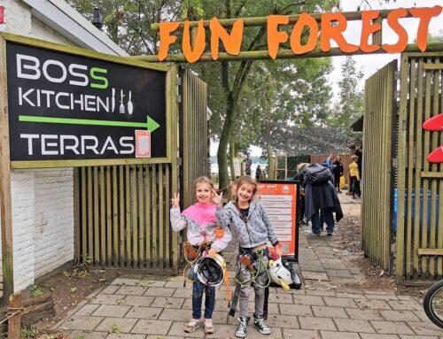 Fun Forest Rotterdam; klimbos met kinderen