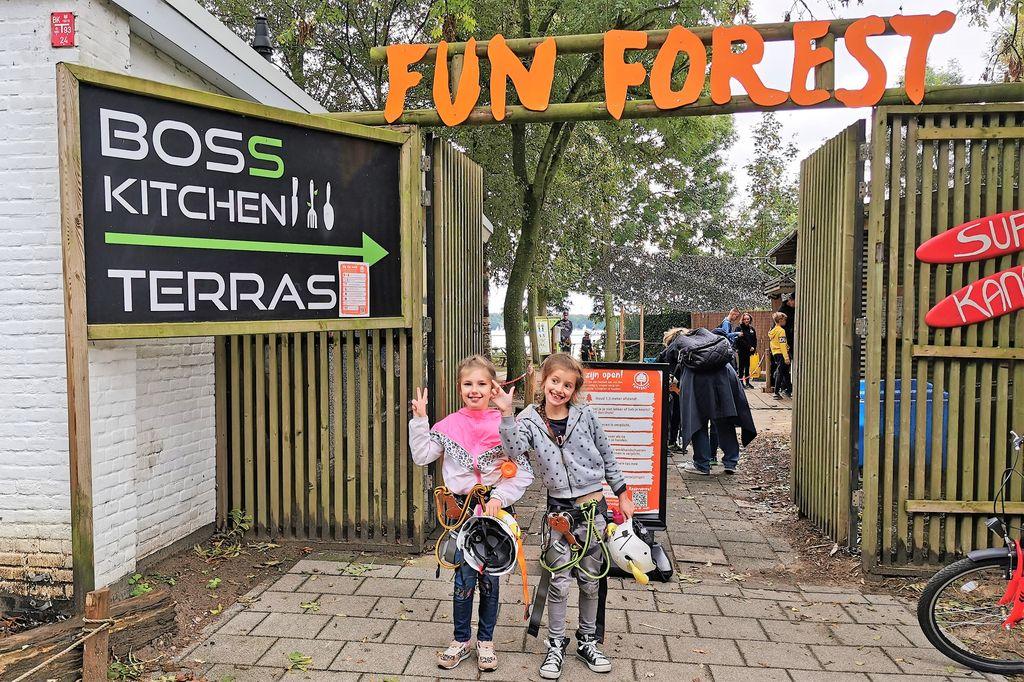 Fun Forest Rotterdam; klimmen met kinderen - Mamaliefde.nl