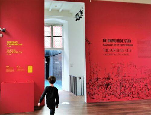De Ommuurde Stad in het Centraal Museum Utrecht met kinderen