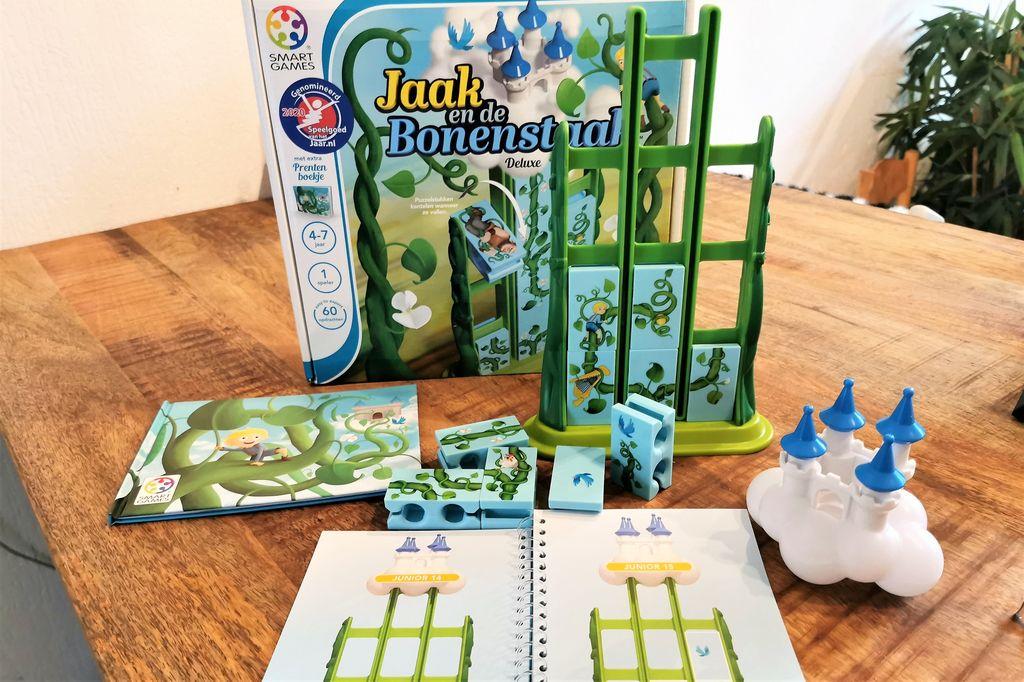 Review; Jaak en de Bonestaak SmartGames - Mamaliefde.nl