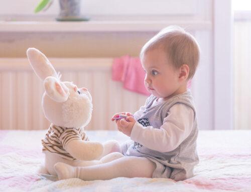 Baby leren zitten
