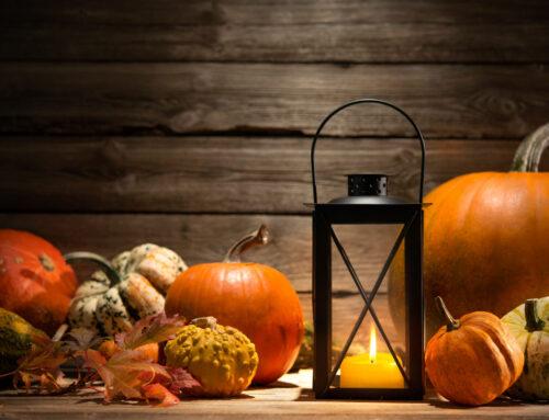 Herfst & halloween decoratie