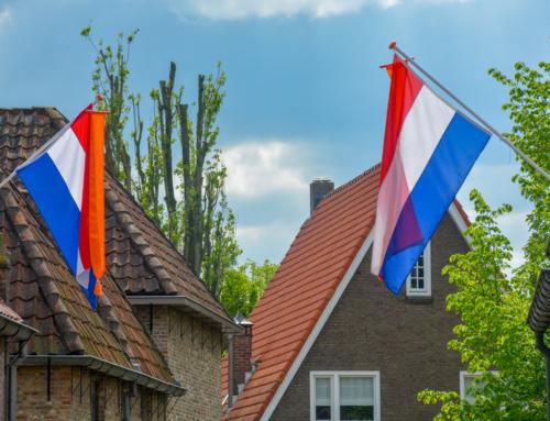 Wanneer en hoe moet de vlag uit?