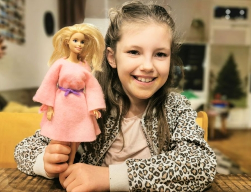 DIY; Zelf een barbie jurk maken van vilt met je kind