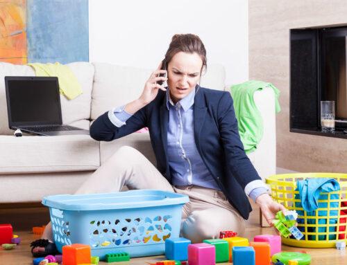 Tips om te onthaasten als drukke moeder…