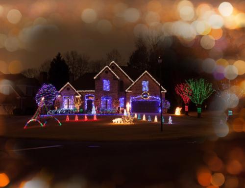Kerst versiering buiten; ideeën voor decoratie en verlichting ook zelf maken