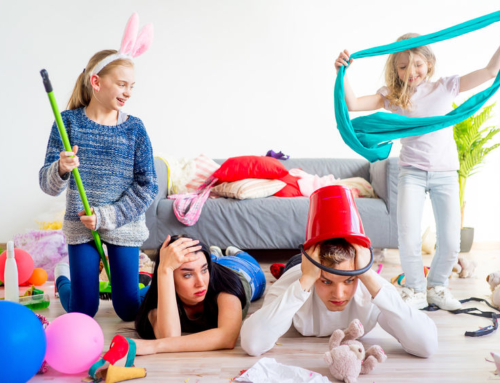 Tips stress moederschap verlagen