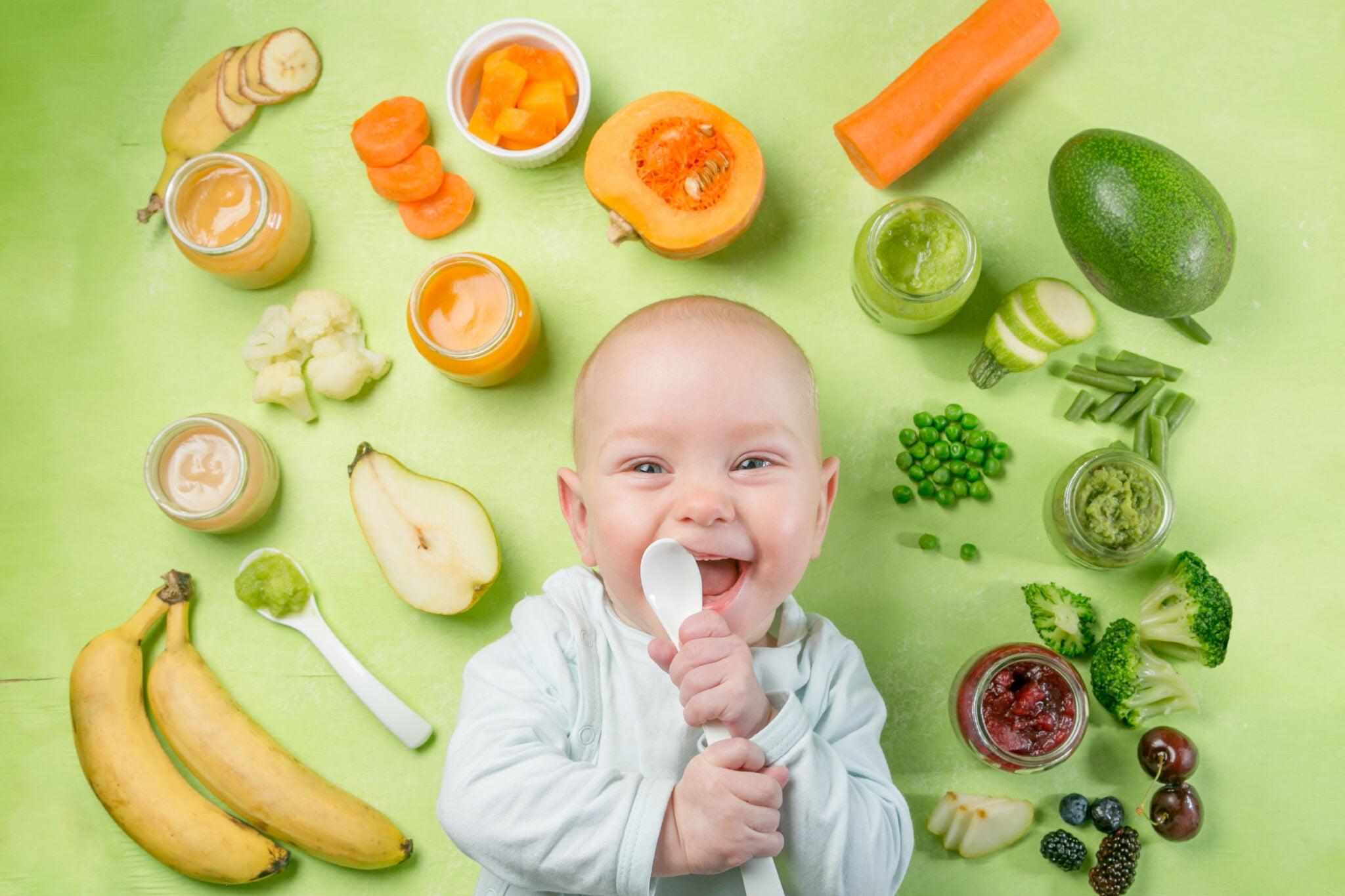 Eerste 100 smaken (First 100 foods) in het eerste jaar van je baby - Mamaliefde.nl