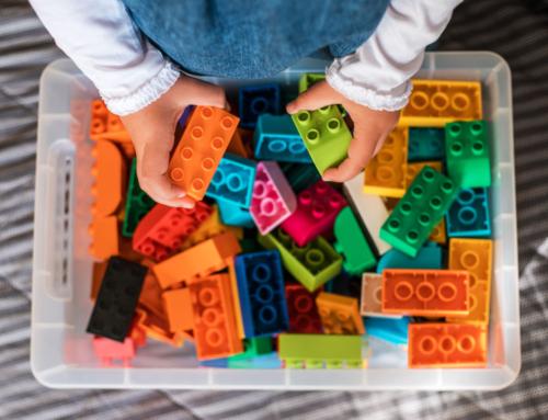 Tips om Lego en ander speelgoed schoon te maken