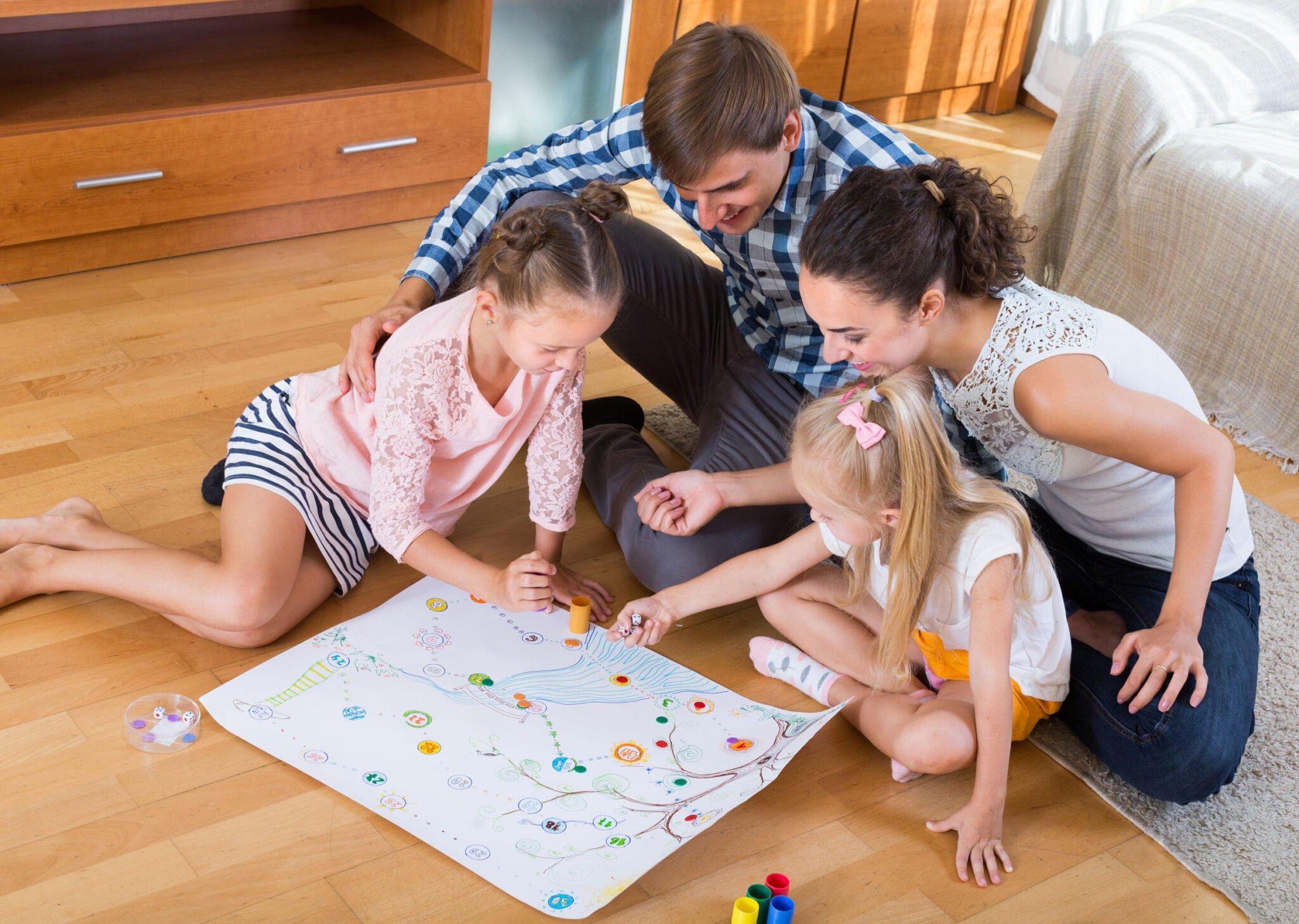 Coöperatieve spellen voor kinderen, zonder winnen of verliezen - Mamaliefde.nl