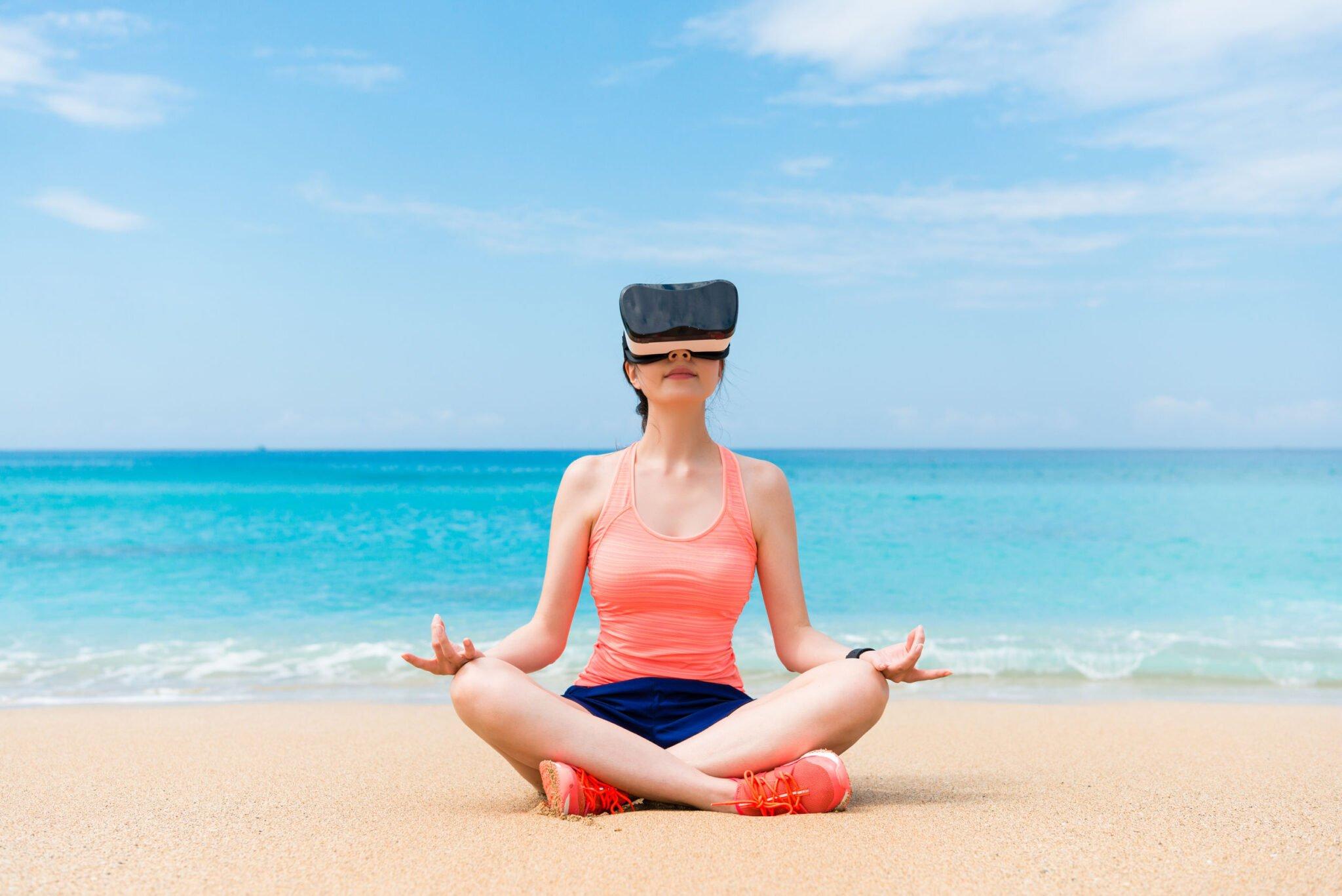 Bevallen met een VR-bril op (in iedere gewenste locatie?) - Mamaliefde.nl