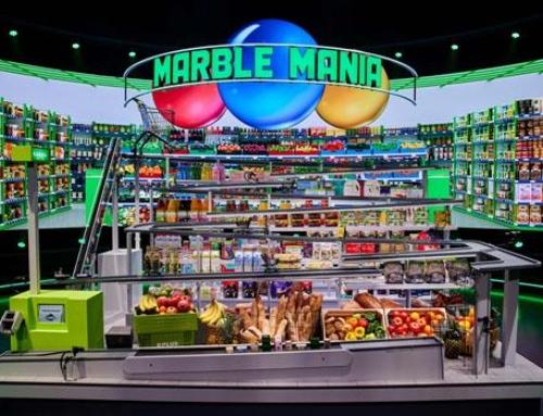 Marble Mania; Tv-programma en Marble Maniacs spaaractie bij Plus