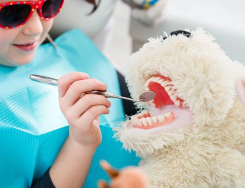 Gaatjes in tanden en kiezen bij kinderen